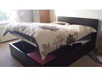 Full bedroom furniture (bed+mattress, wardrobe, bed side tables x2 + two lamp and, shoes storage)