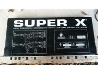 Behringer SUPER X cross over