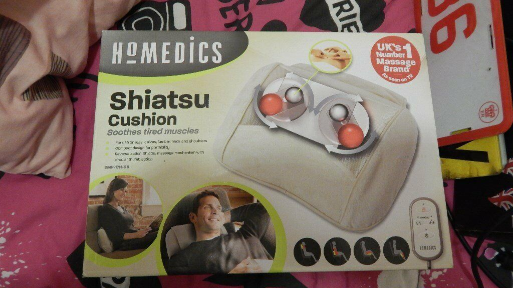 homedics shiatsu cushion unwanted gift never used