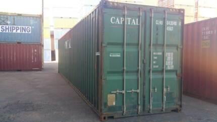 40' Shipping Container Hi-Cube - Brisbane Brisbane Region Preview