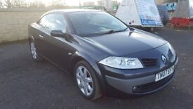Renault Megane Convertible 1.9 dci LOW MILAGE ,FULL YEAR MOT,FULL SERVICE HISTORY