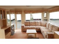 ATLAS NEVADA STATIC CARAVAN - HOLIDAY HOME - NOW REDUCED - KINGFISHER INGOLDMELLS - COASTFIELDS