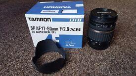 Tamron SP AF 17-50mm F/2.8 XR Lens for canon