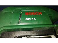 Bosch PBS 7 A Belt 600W Sander