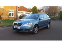2010, SKODA OCTAVIA 1.6 SE TDI CR 5d 104 BHP Service Record 1 OWNER FROM NEW, Sunroof