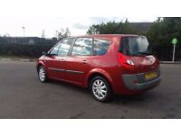 7 SEATER RENAULT GRAND SCENIC 1.6 IN CLEAN CONDITION. 1 YEAR MOT. SERVICE HISTORY. 1 PREVIOUS OWNER