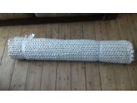 Laura Ashley cream Wool Rug Brand New in original packaging
