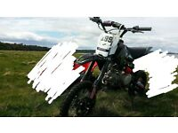 Can deliver free - Welsh pitbike wpb 140cc good spec model barely used no issues bargain no swap