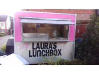 Catering trailer full Lpg gas equipment Bain marie griddle burco