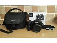 SONY 20.1 Megapixel Bridge Camera DSC-H200 + Case and 16gb card
