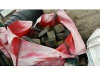 CobbleStones, approx 22xbulk bags 3/4 ton each. MAKE AN OFFER, PX mobiles