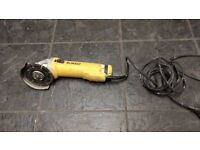 Dewalt grinder..top make, best around, does everything that you need from a cutting tool..