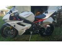Triumph 675R with all the extras, low milage, FTSH, some minor fall damage, (no accident) pls read.