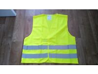 Packs of Brand New High Visibility (Hi-vis) Vests