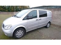 ***SOLD***Merc Vito 5 seater/van