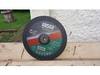 """9"""" cutting discs 20 stone and 10 steel Price £25.00"""