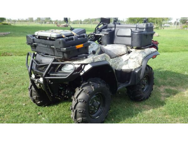 suzuki king quad 750 efi for sale canada. Black Bedroom Furniture Sets. Home Design Ideas