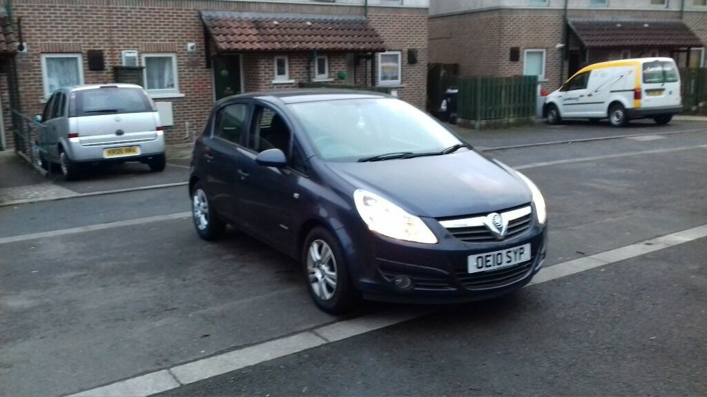 vauxhall corsa 1 2l on 2010 reg in shirehampton bristol gumtree. Black Bedroom Furniture Sets. Home Design Ideas