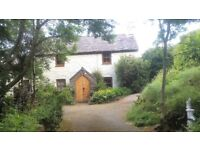 Charming, remote, secluded Welsh stone cottage, sleeps 4+1 near CONWY, N. Wales. Pet friendly £349