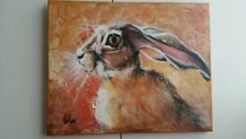 Original painting - Hare - NEW