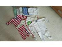Baby sleepsuits