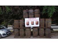 Oak Rum Barrels