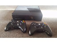 Xbox 360 S 250GB With 2 Wireless Controllers