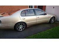 LEXUS GS 300 GS300 SPORT AUTO CASHMERE GOLD 1997 110,000 MILES
