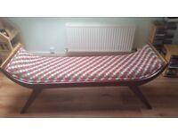 Bench/Seat. Solid wood Keegan bench.
