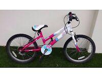 """Emmelle Diva 20"""" girls bike"""