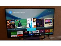 "SONY 49"" Smart 4K ULTRA ANDROID TV with built in Wifi,Freeview HD, Netflix,Excellent condition"