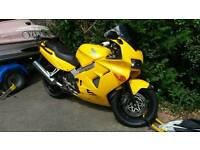 VFR800 1998 with unique Plate