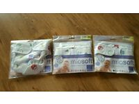 Unused reusable nappy covers