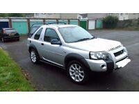 Freelander td4, 4x4, 2 litre diesel sport 2004, new mot