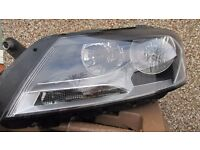 Volkswagen Passat 2014 Passenger side headlamp unit