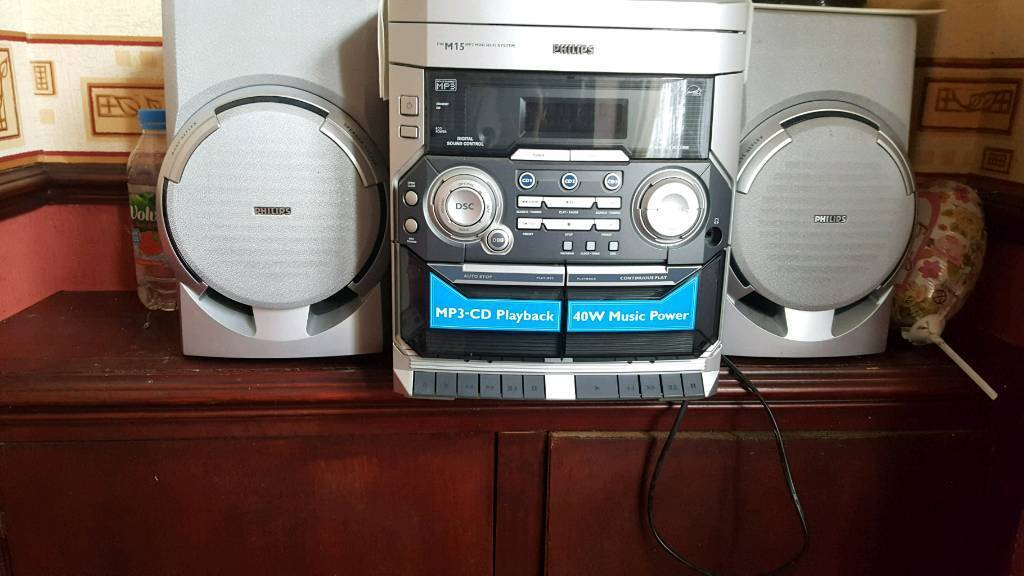 System cd and tape with romote