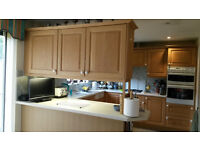 Free Kitchen Cupboards, Work Tops, Hob and Double Oven