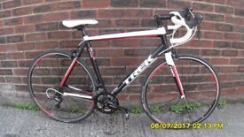 TREK 1.2 ALPHA RACING BIKE 27sp LIGHTWEIGHT 58cm ALLOY FRAME/CARBON FORKS V/CLEAN JUST SERVICED