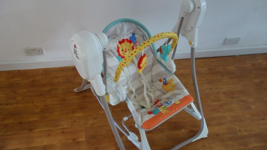 Fisher Price Rainforest 3-in-1 Swing