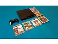 Playstation 3 Slim Bundle with Games