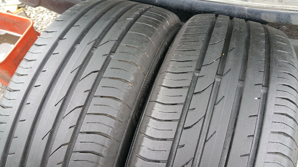 215 55 18 2 x tyres Continental ContiPremiumContact 2