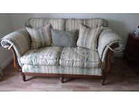 DFS two seater and three seater settee for sale.