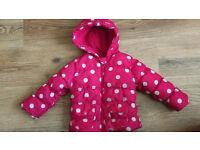 Girls jacket, 9-12 months