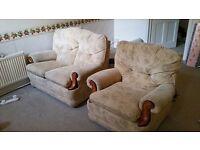 2 seater + Single seater sofa