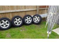 Freelander alloys and tyres 16 inch
