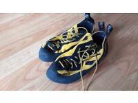 Boreal Silex Climbing Shoes Size 8