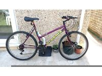 Ladies Mountain Bike Adult Bicycle - Ready to Ride .