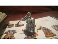 40K WARHAMMER SPACE MARINE CAPTAIN COMMANDER CHAPTER MASTER IN POWER ARMOUR METAL