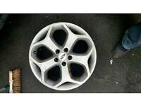 Ford focus st mk2 pfl alloy wheels x2