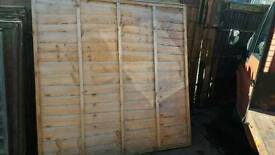 Used fencing panels for sale